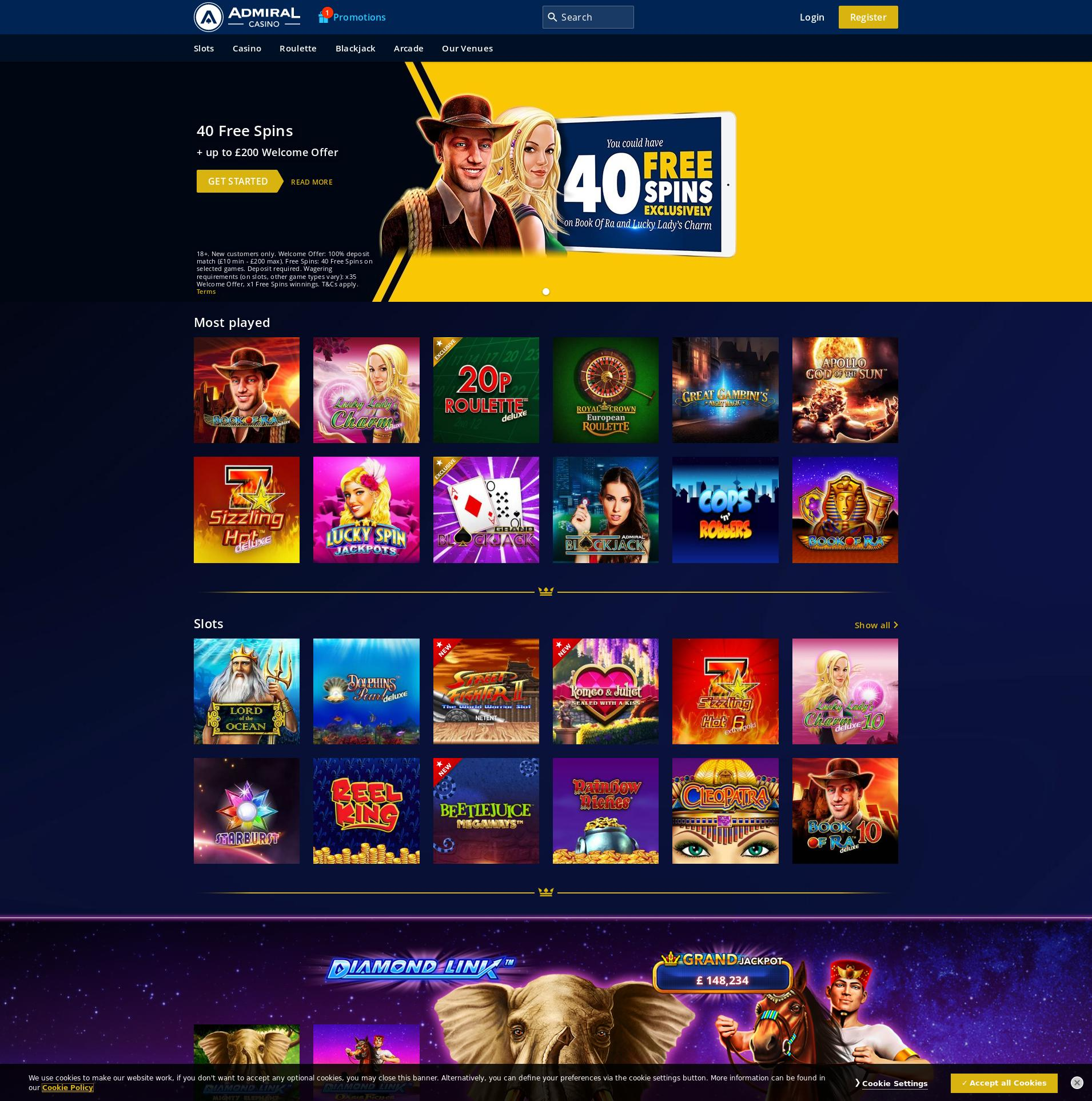 Us admiral casino games biz