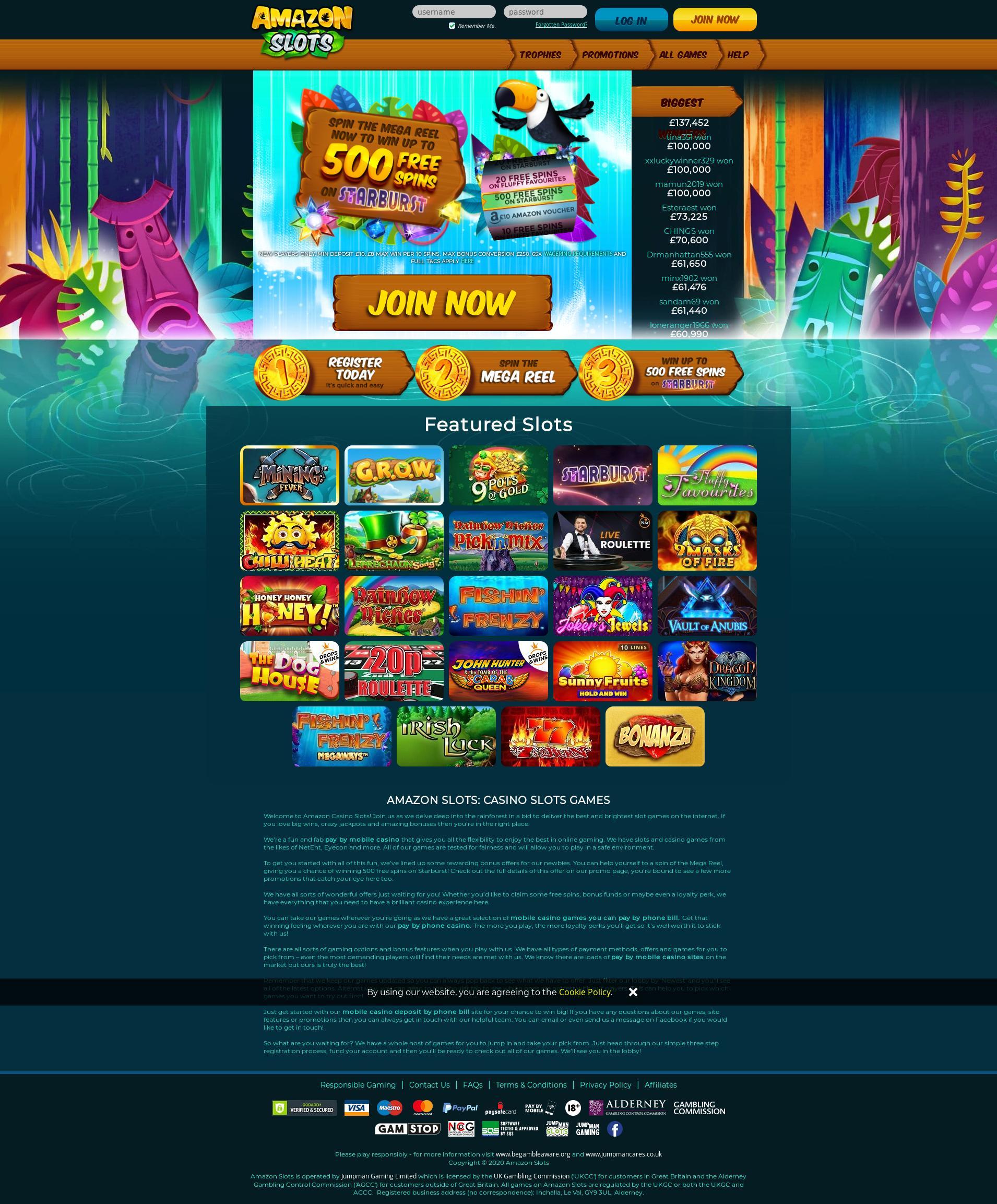 Casino screen Lobby 2020-04-04 for United Kingdom
