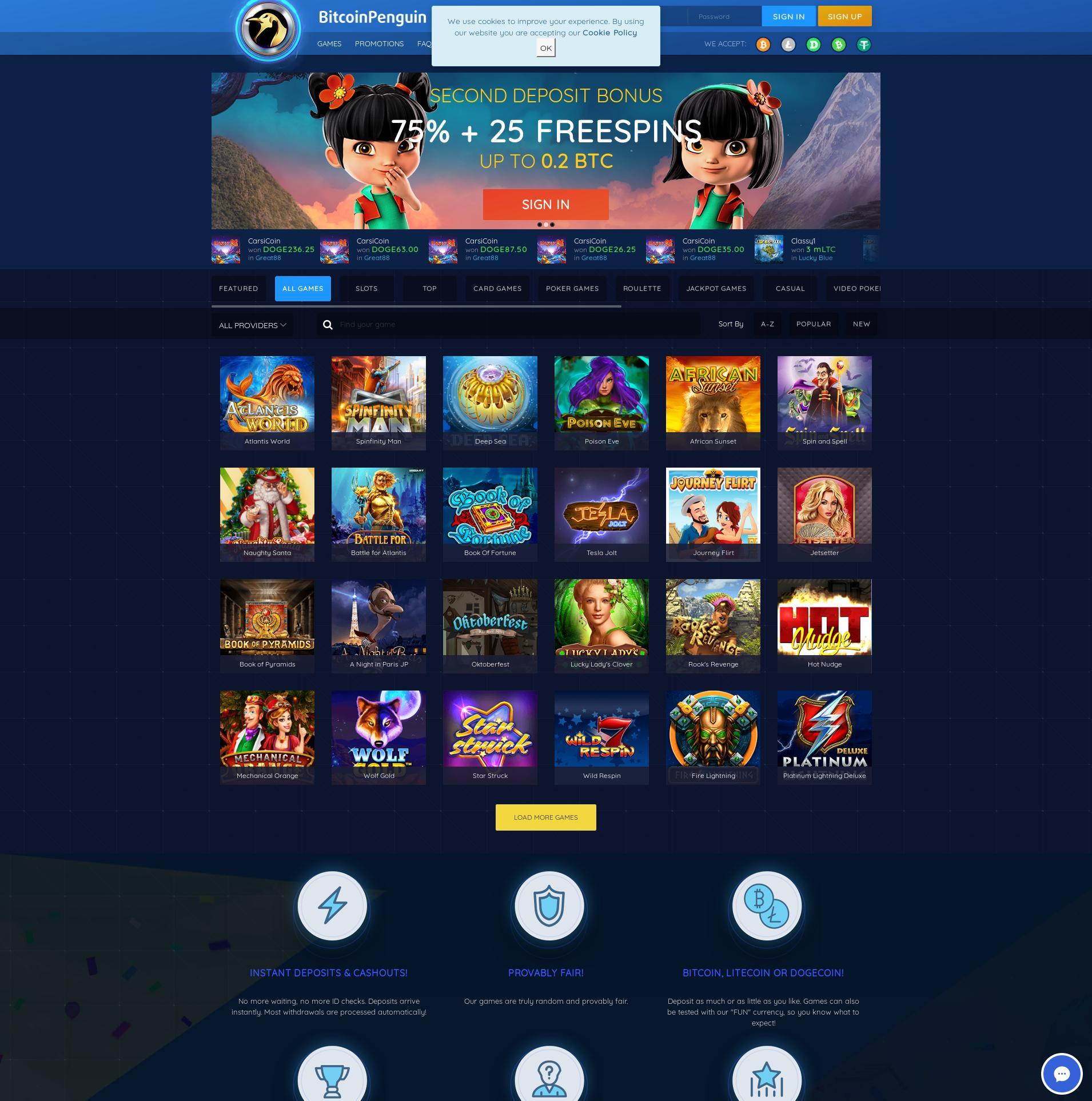 カジノのスクリーン Lobby 2020-01-19 ために 日本