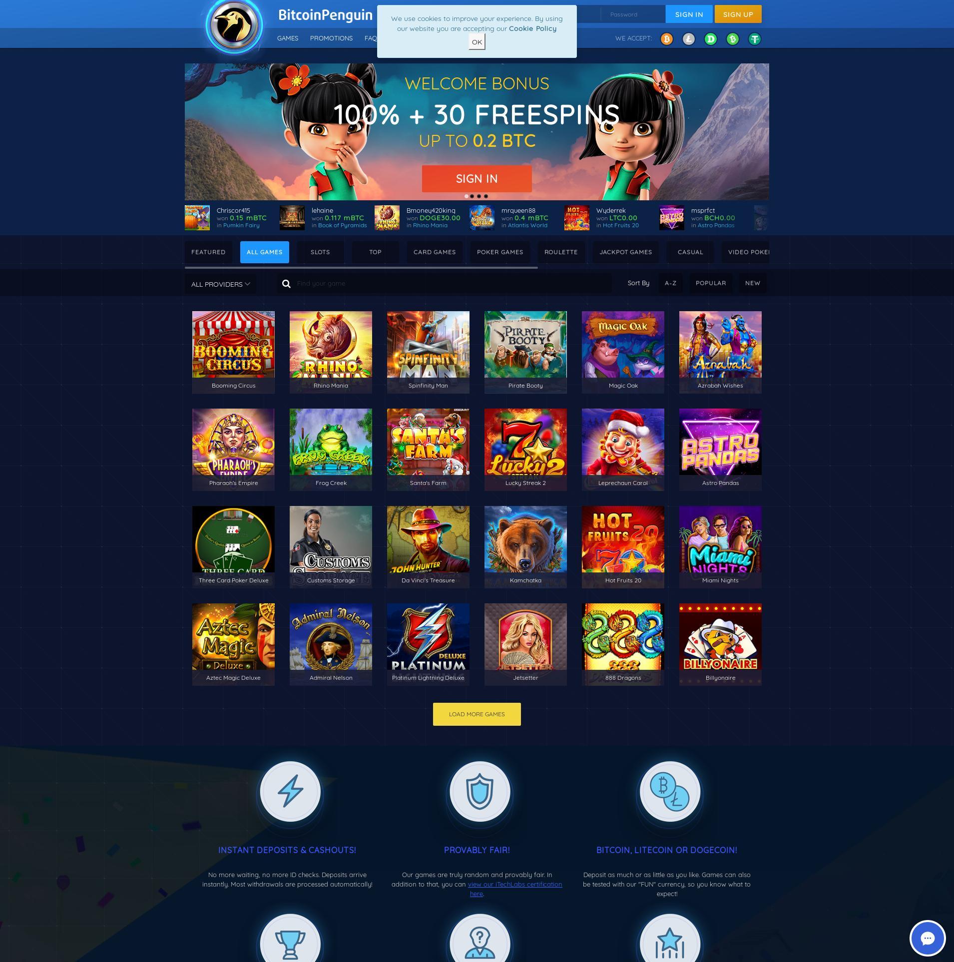 カジノのスクリーン Lobby 2019-08-17 ために 日本