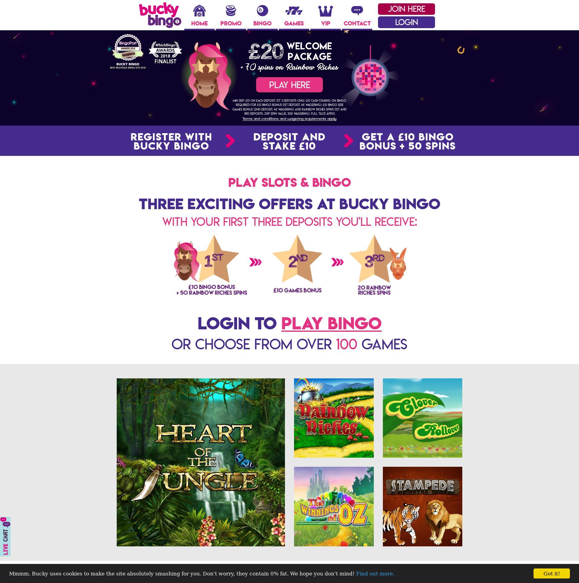 Casino screen Lobby 2019-10-22 for United Kingdom