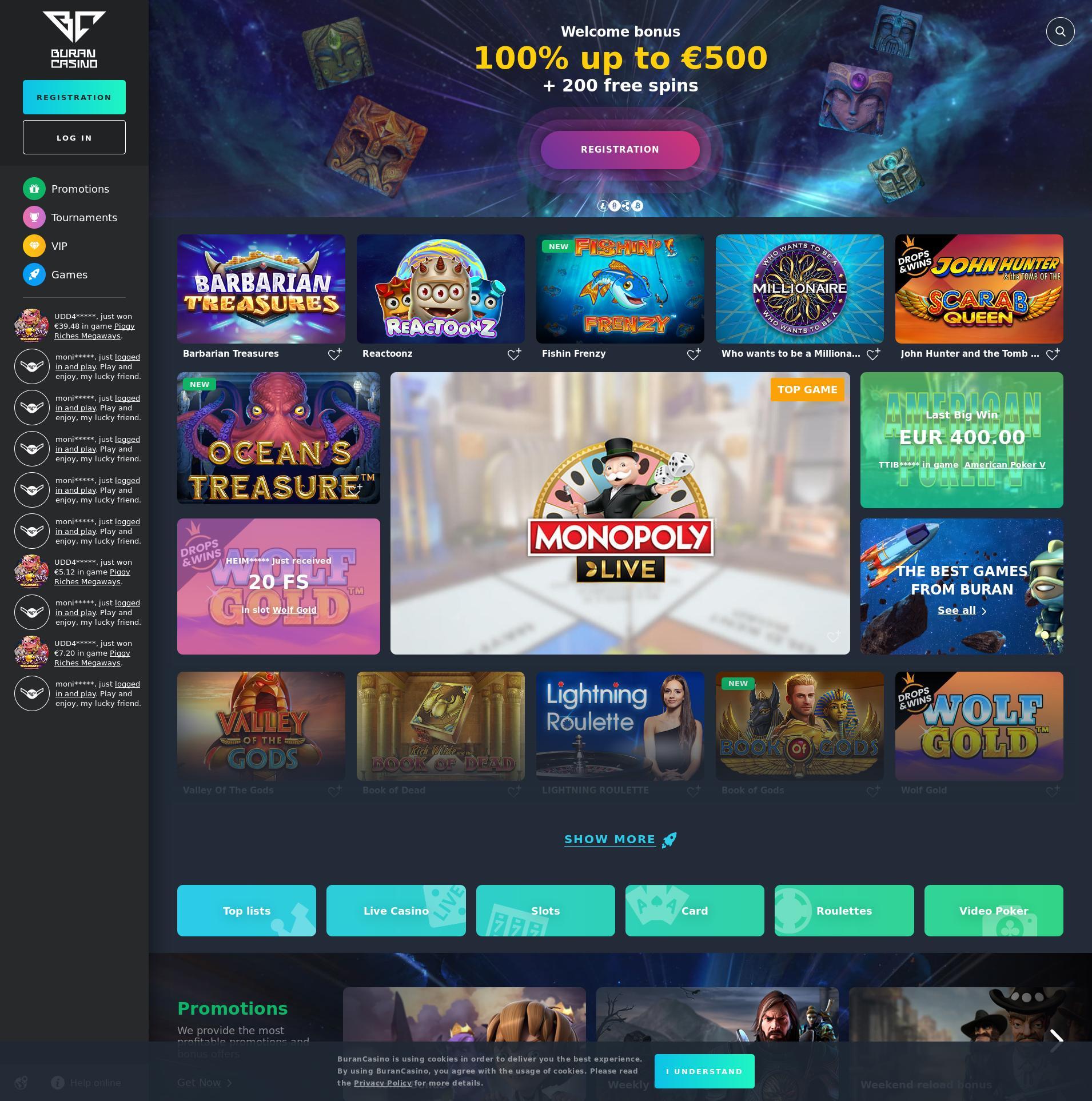 赌场的屏幕 Lobby 2020-02-25 对于 中国