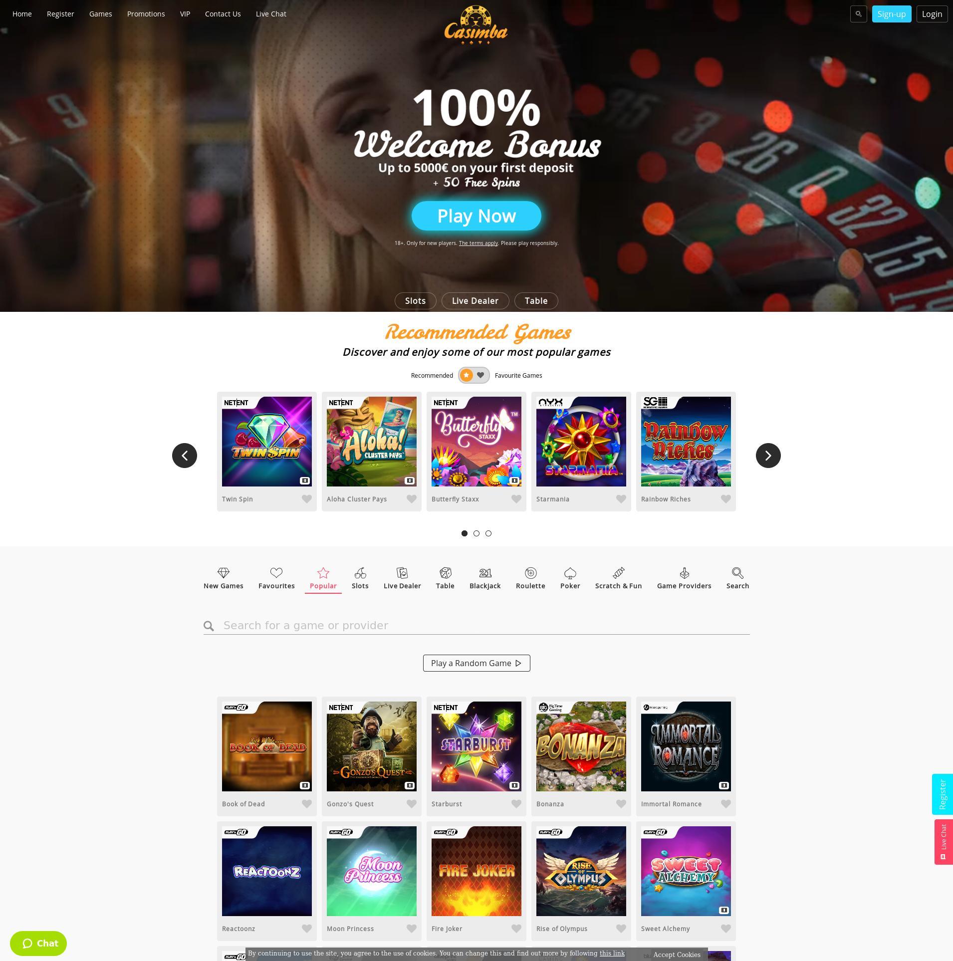 Casino-näyttö Lobby 2020-01-28 varten Suomi