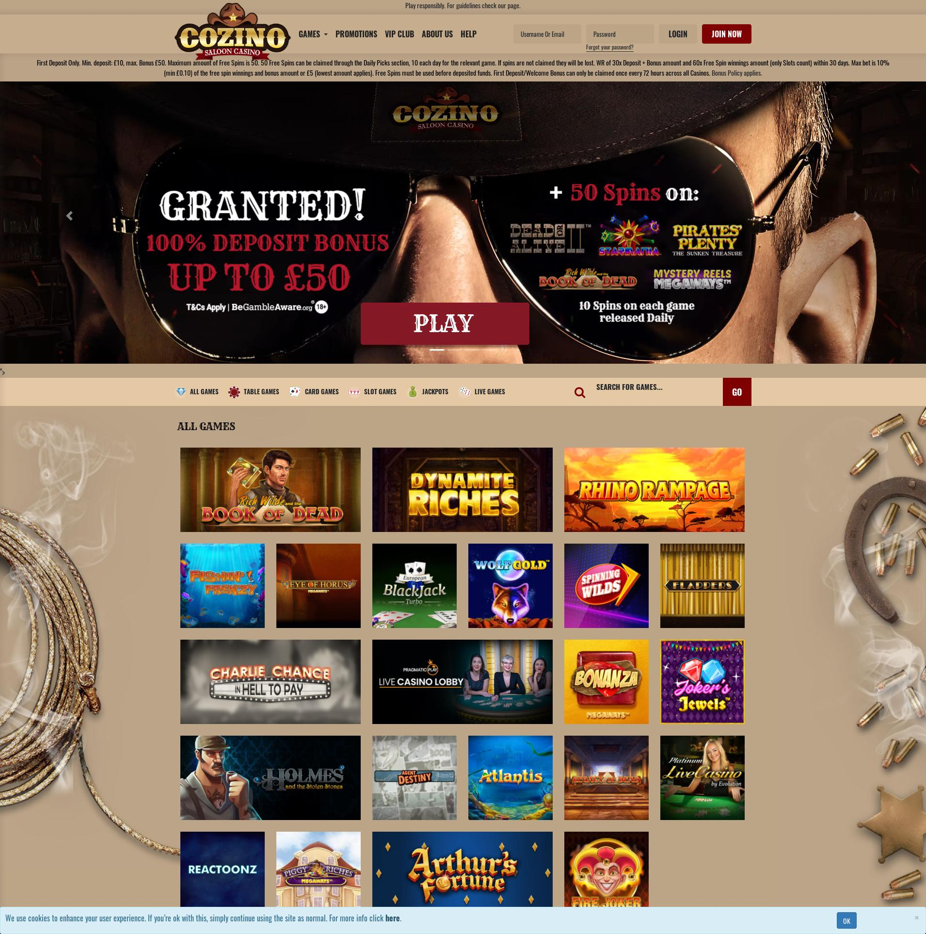 Casino screen Lobby 2020-05-24 for United Kingdom