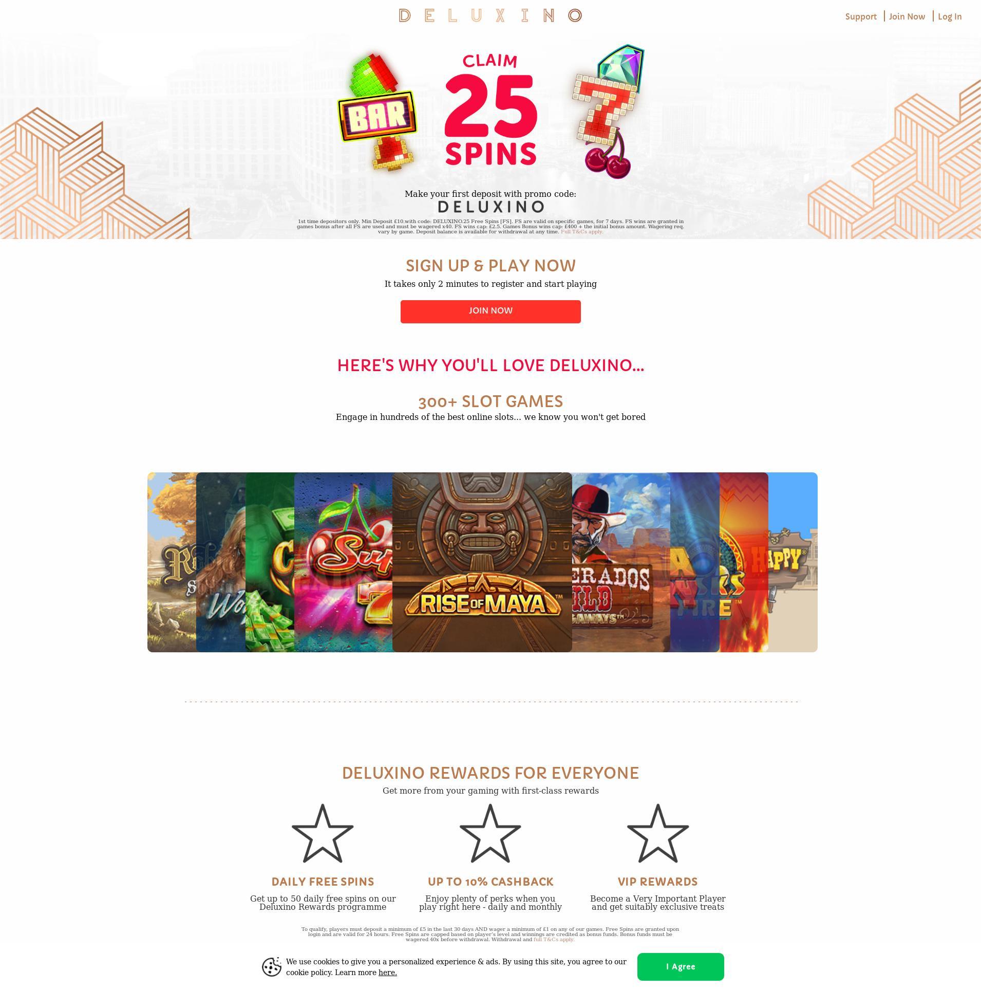 Casino screen Lobby 2020-06-02 for United Kingdom