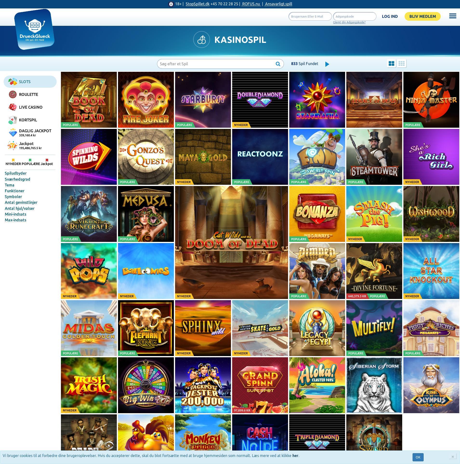Online Casino DrГјckglГјck