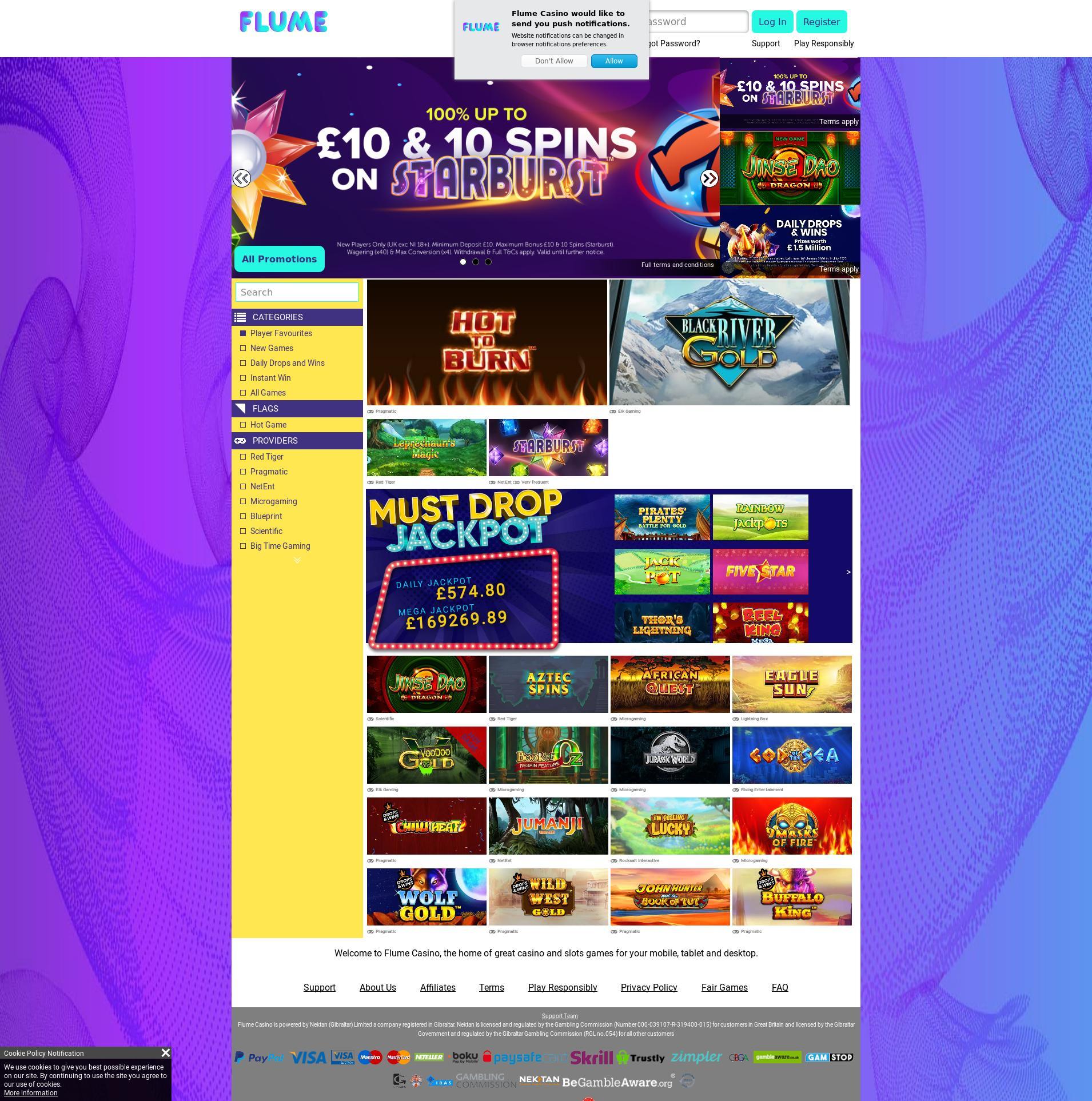 Casino-näyttö Lobby 2020-06-04 varten Yhdistynyt kuningaskunta