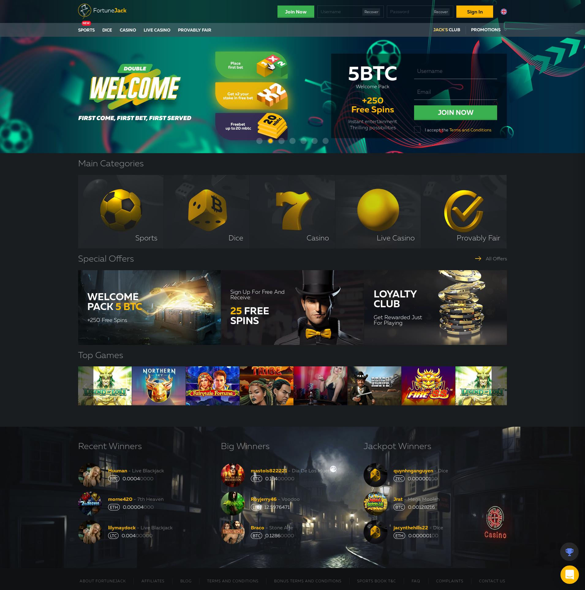 Casino screen Lobby 2019-06-15 for Hungary