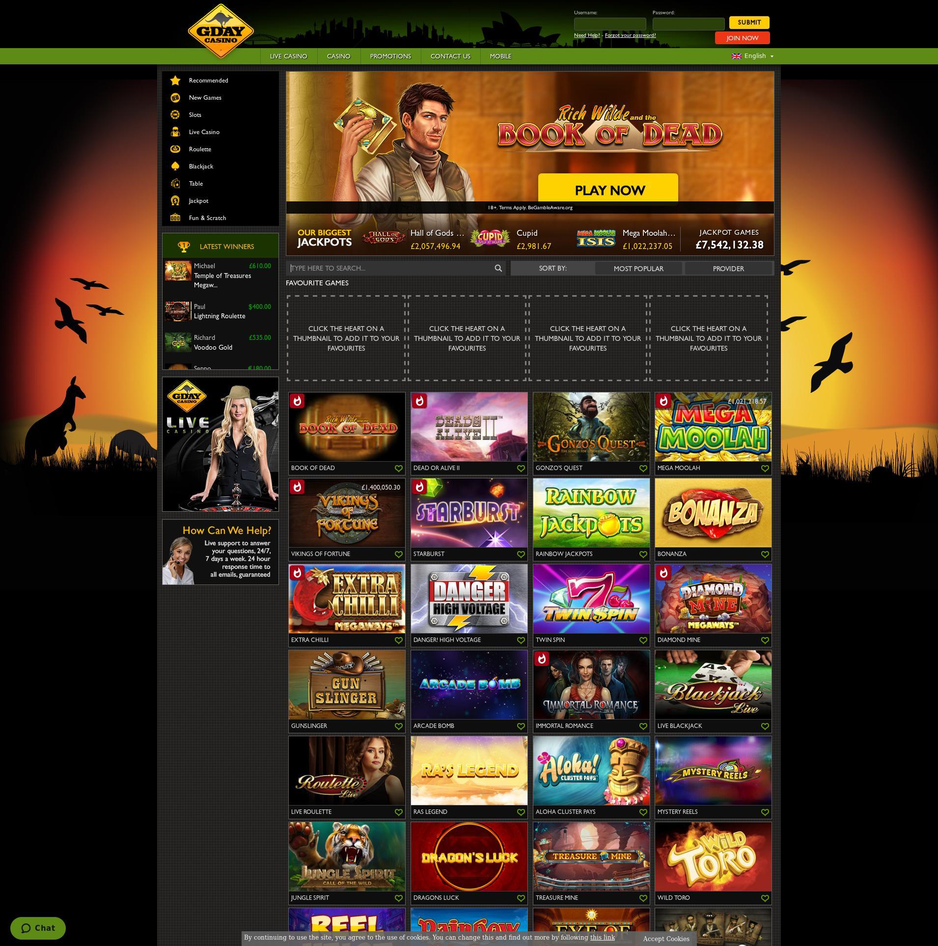 カジノのスクリーン Lobby 2019-11-17 ために イギリス