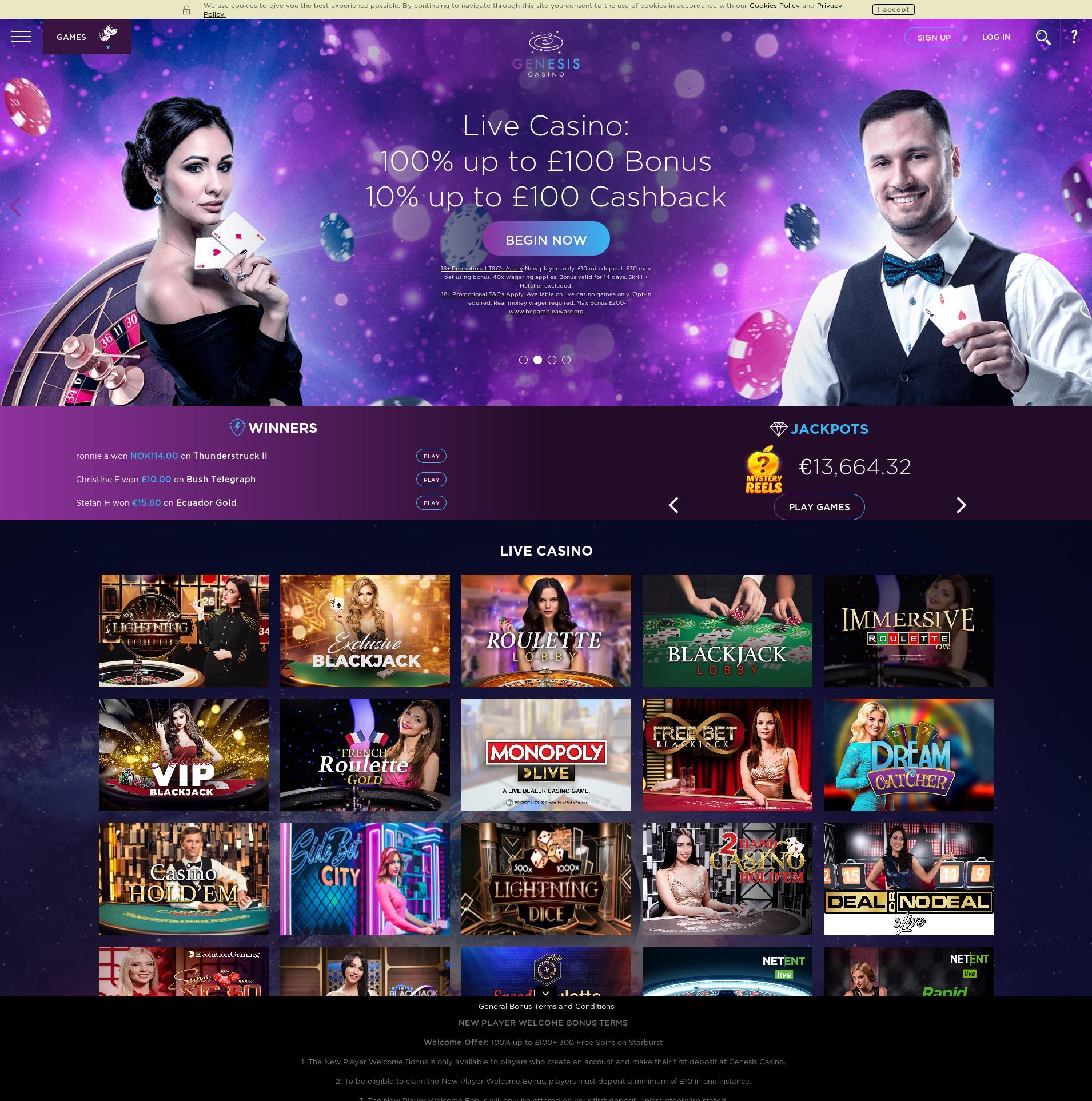赌场的屏幕 Lobby 2019-10-16 对于 英国