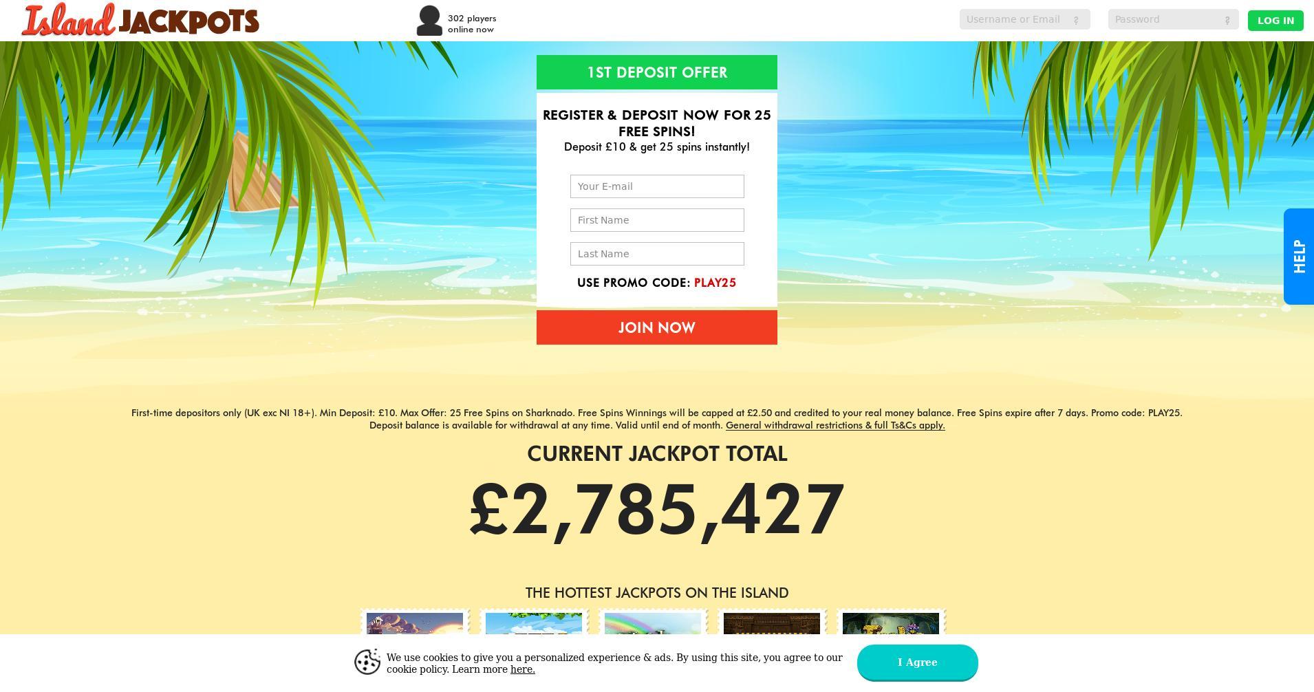 Casino screen Lobby 2019-09-14 for United Kingdom