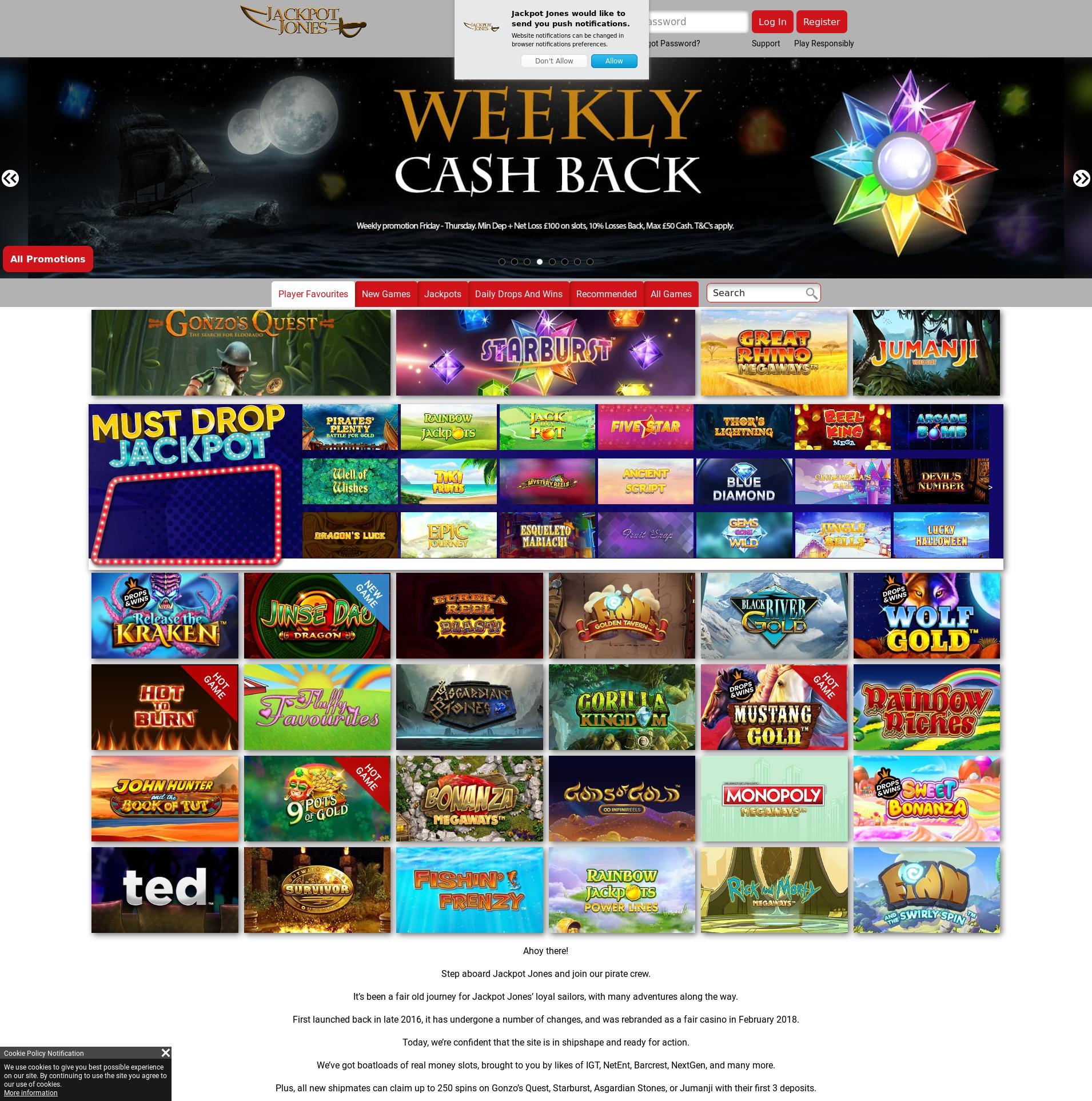Casino screen Lobby 2020-05-31 for United Kingdom