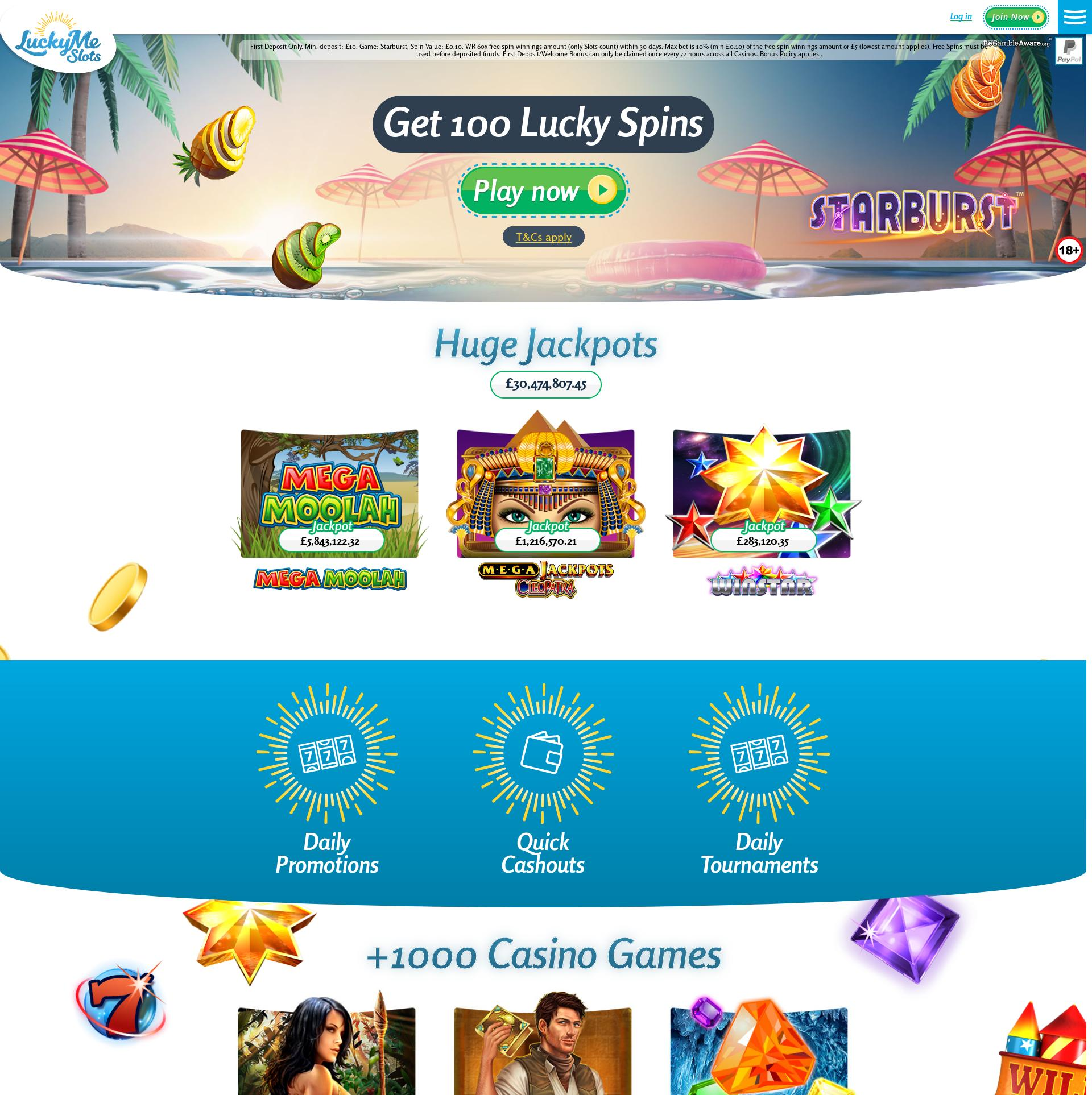 Casino skärm Lobby 2019-09-19 för Storbritannien
