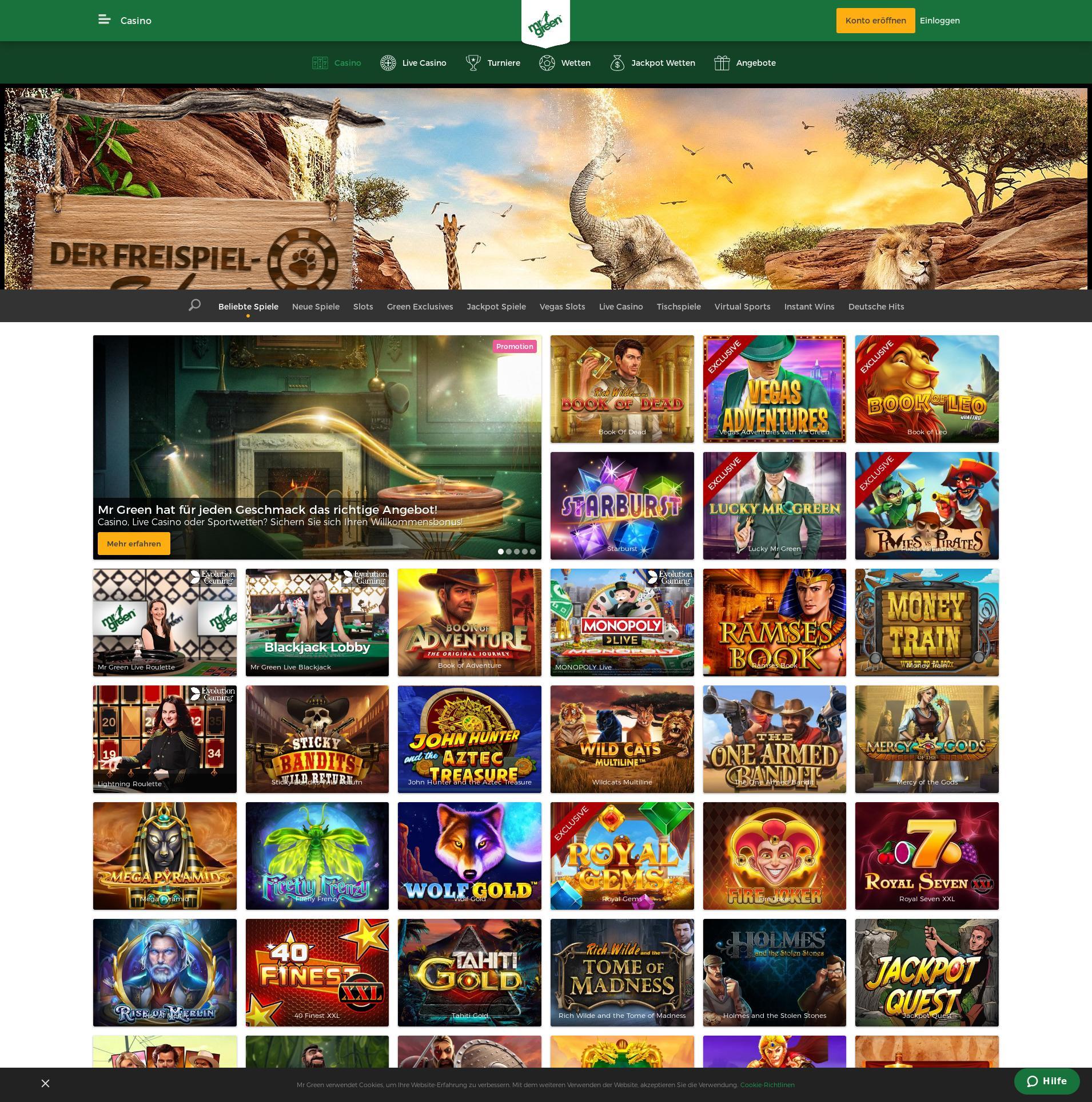 Casino screen Lobby 2019-08-20 pentru România