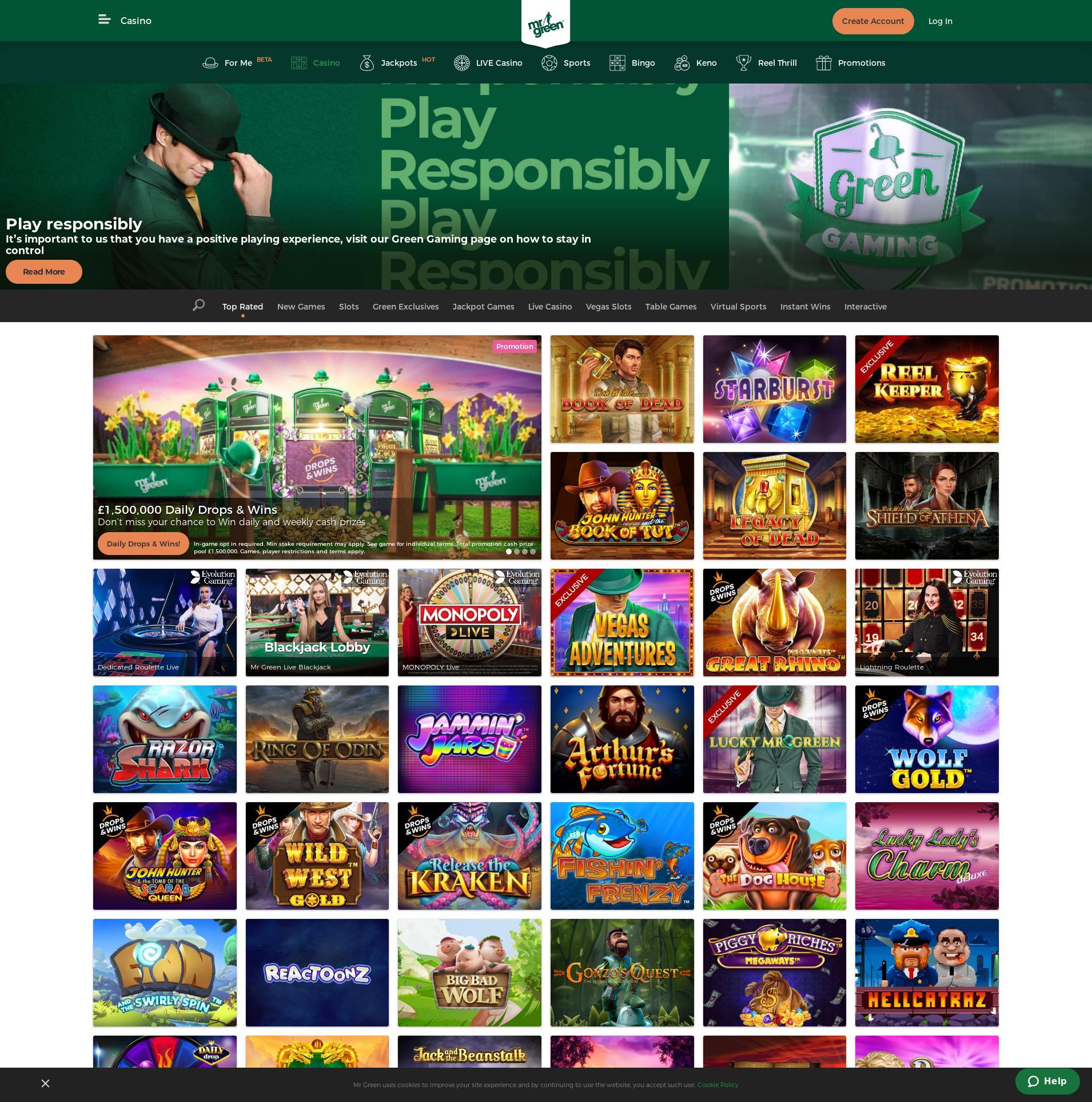 カジノのスクリーン Lobby 2020-05-30 ために イギリス