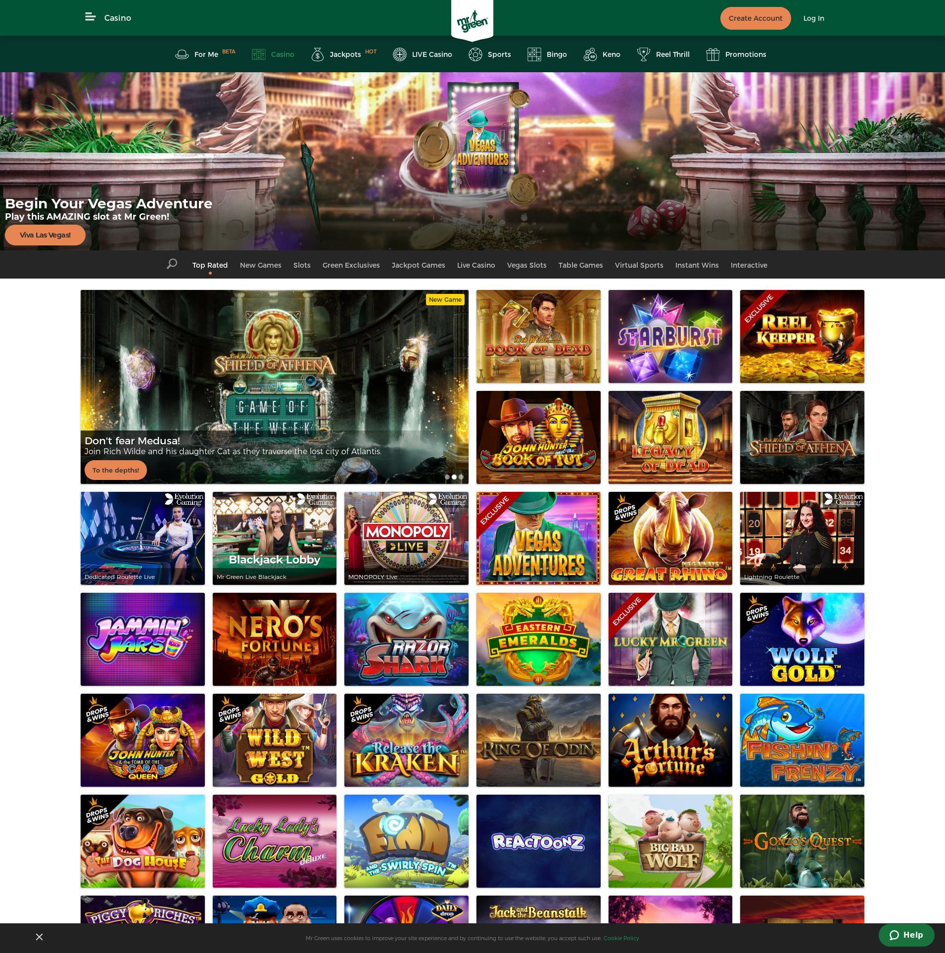 Casino screen Lobby 2020-06-03 pentru Regatul Unit