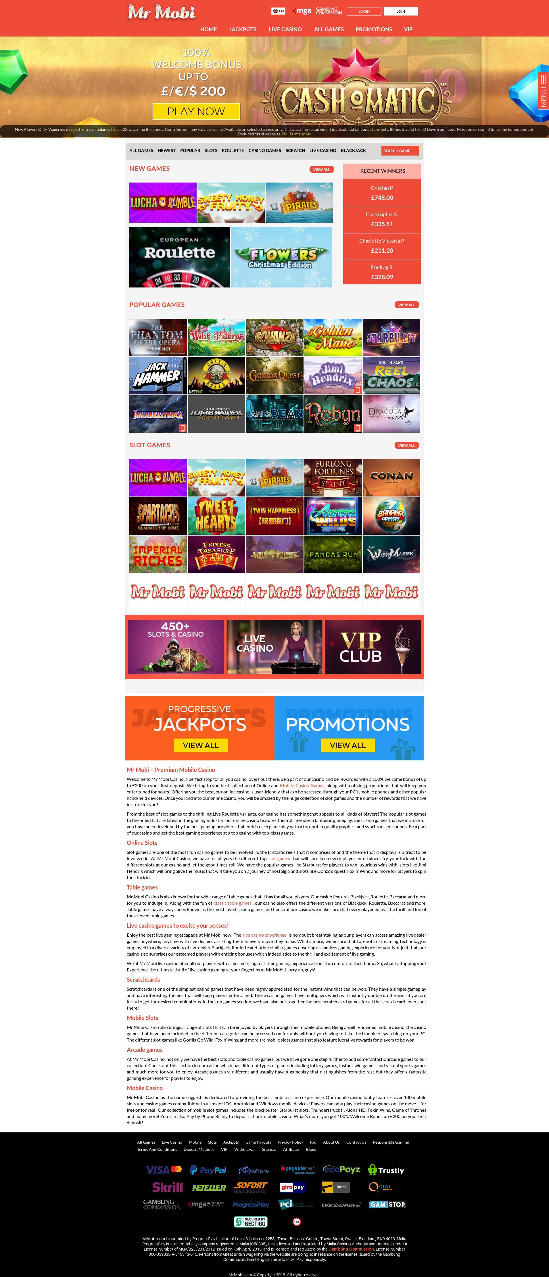 赌场的屏幕 Lobby 2019-10-16 对于 瑞典