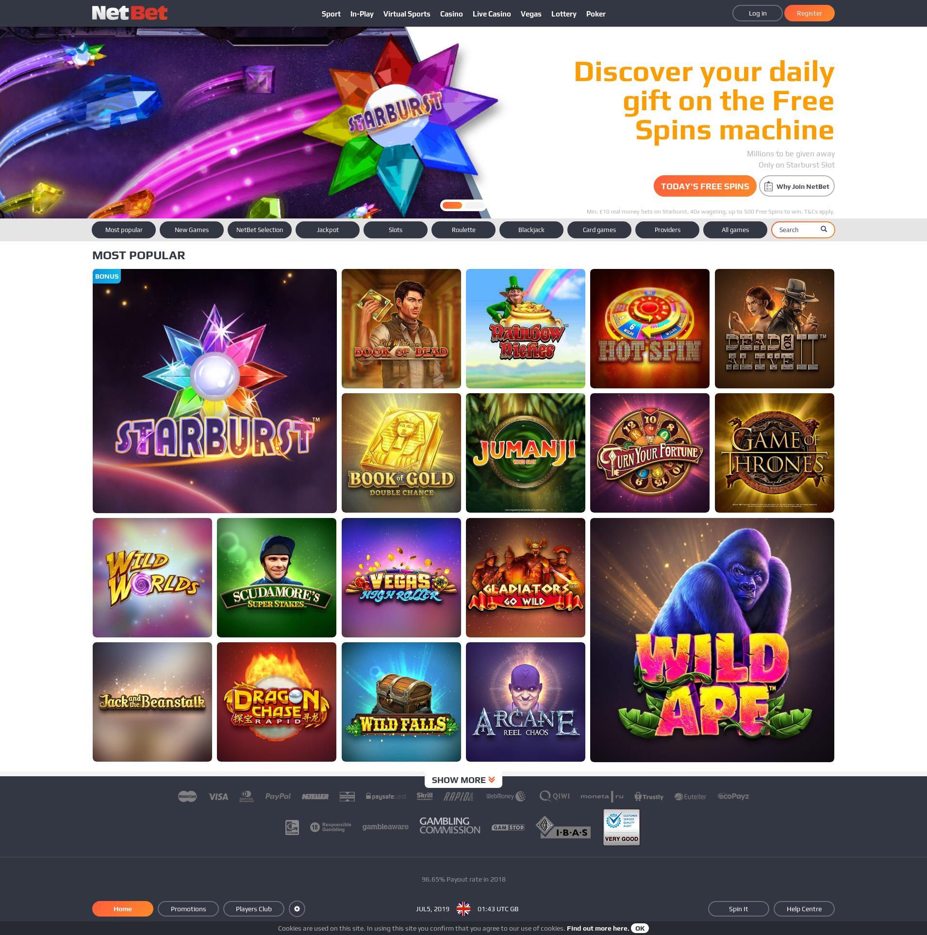αξιολόγηση (2019) casino netbet