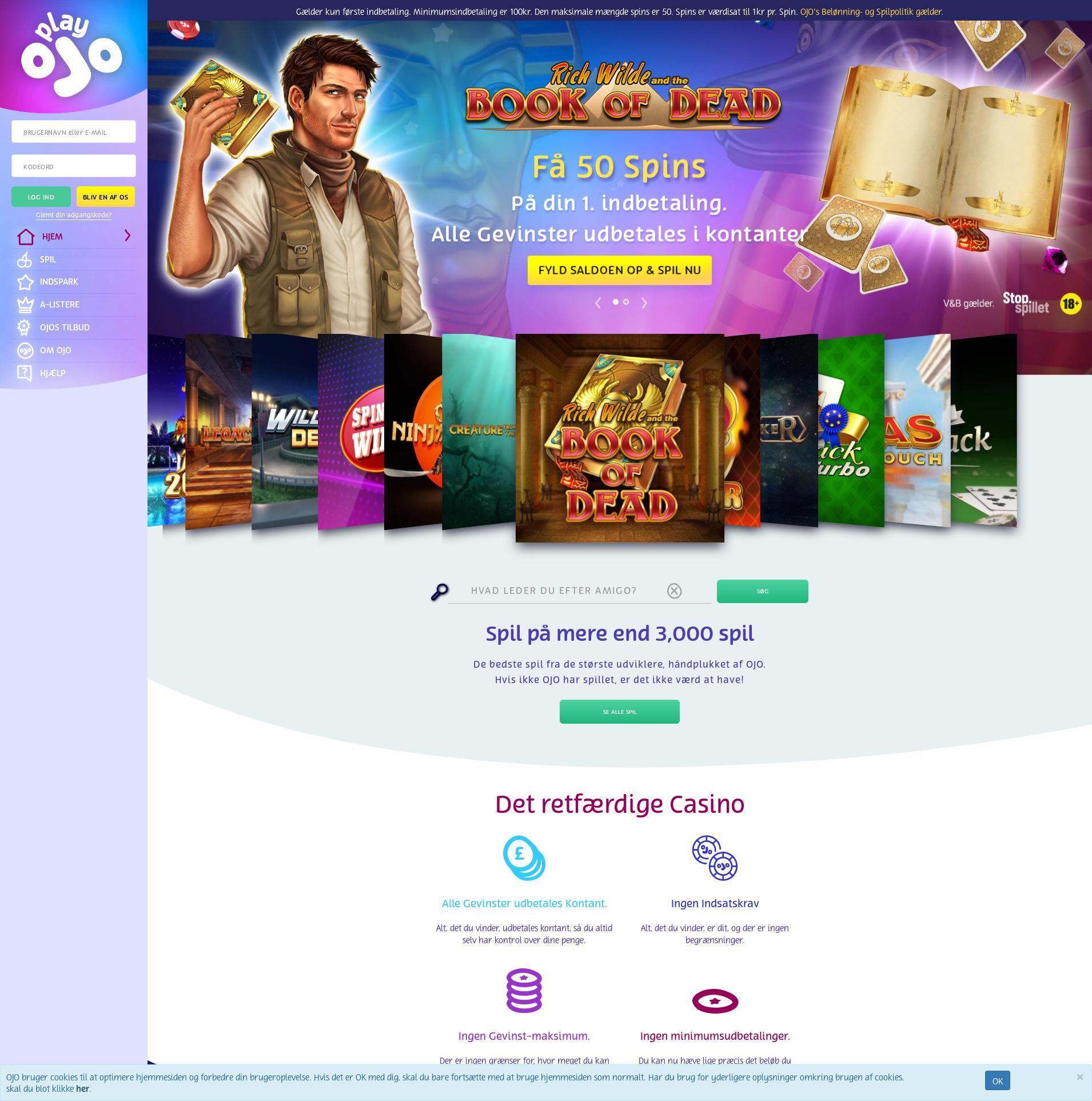 Casino screen Lobby 2020-01-22 pentru Danemarca