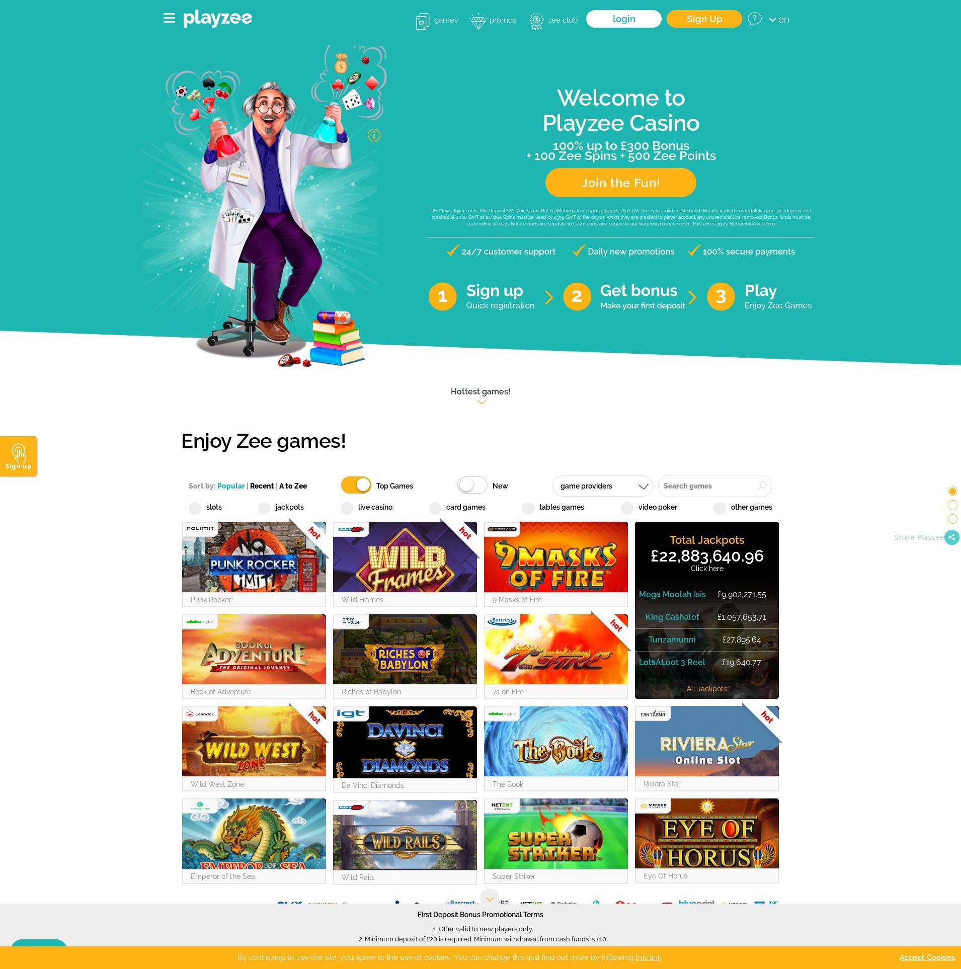 Casino Bildschirm Lobby 2020-05-24 zum Großbritannien