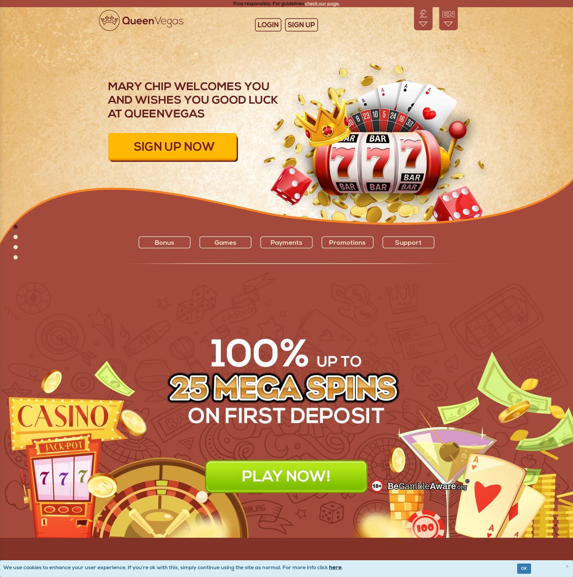 Casino ekranı Lobby 2020-06-02 için Birleşik Krallık