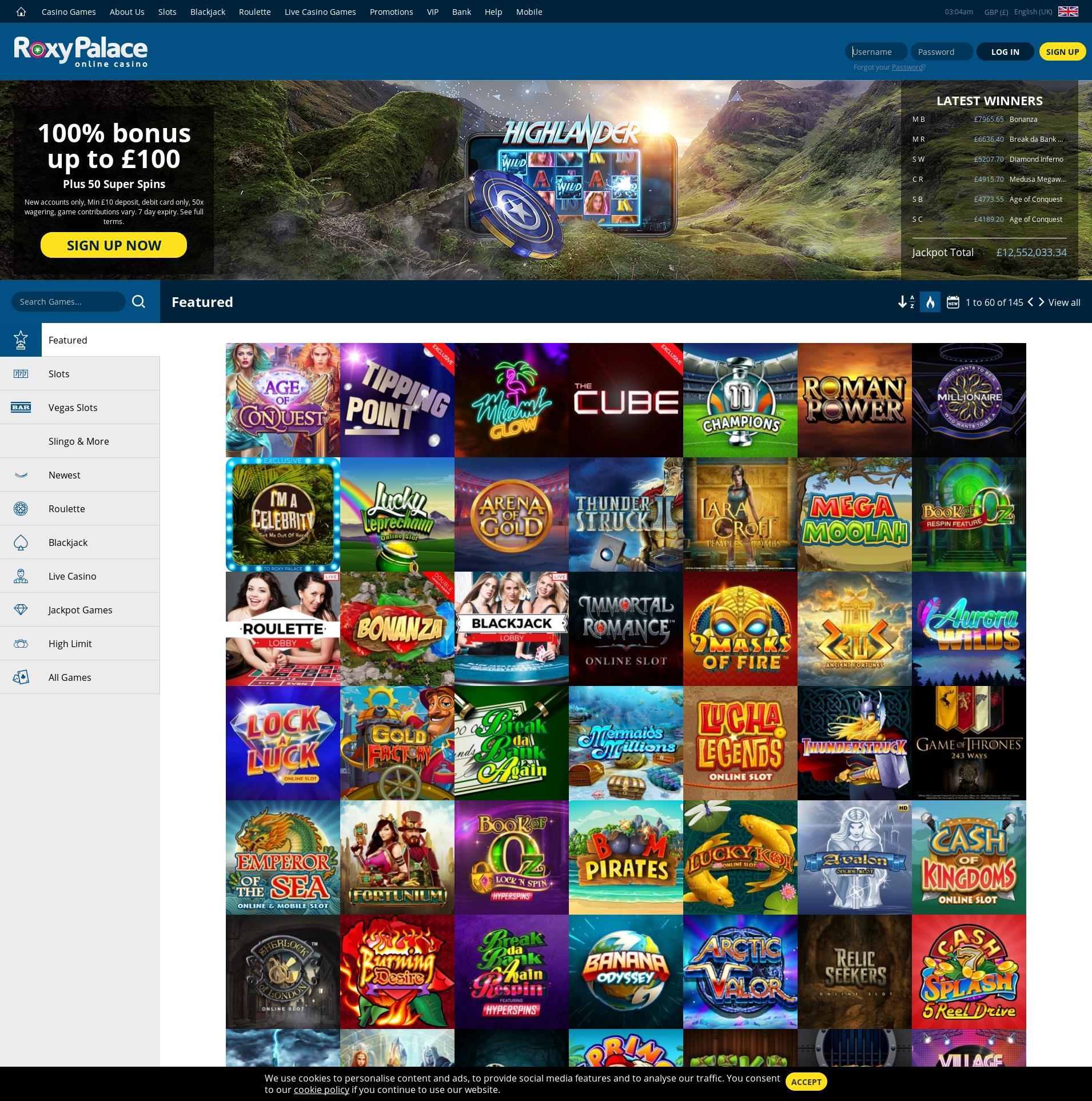 Roxy Palace Casino Paypal