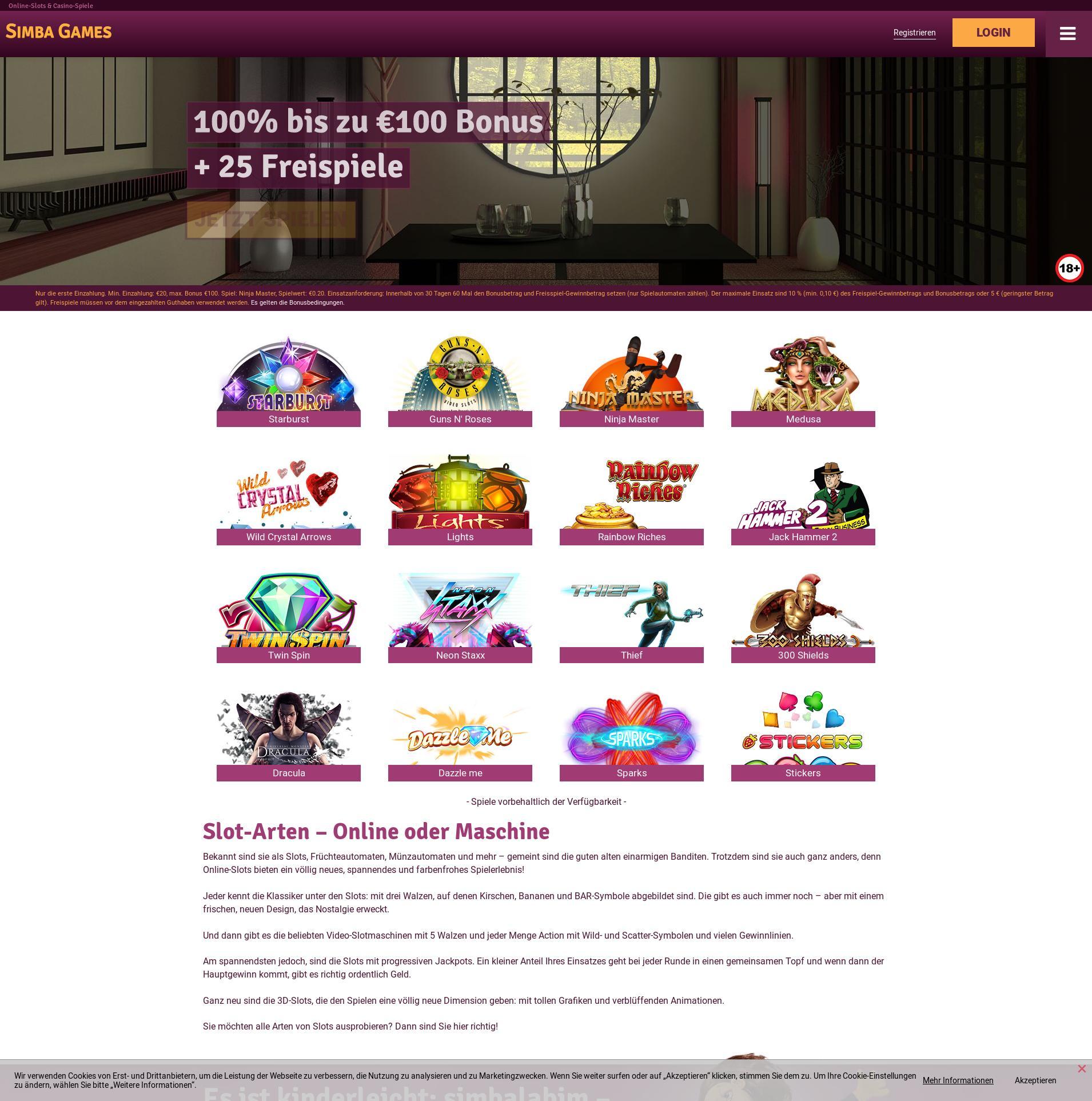Casino Bildschirm Lobby 2019-10-19 zum Deutschland