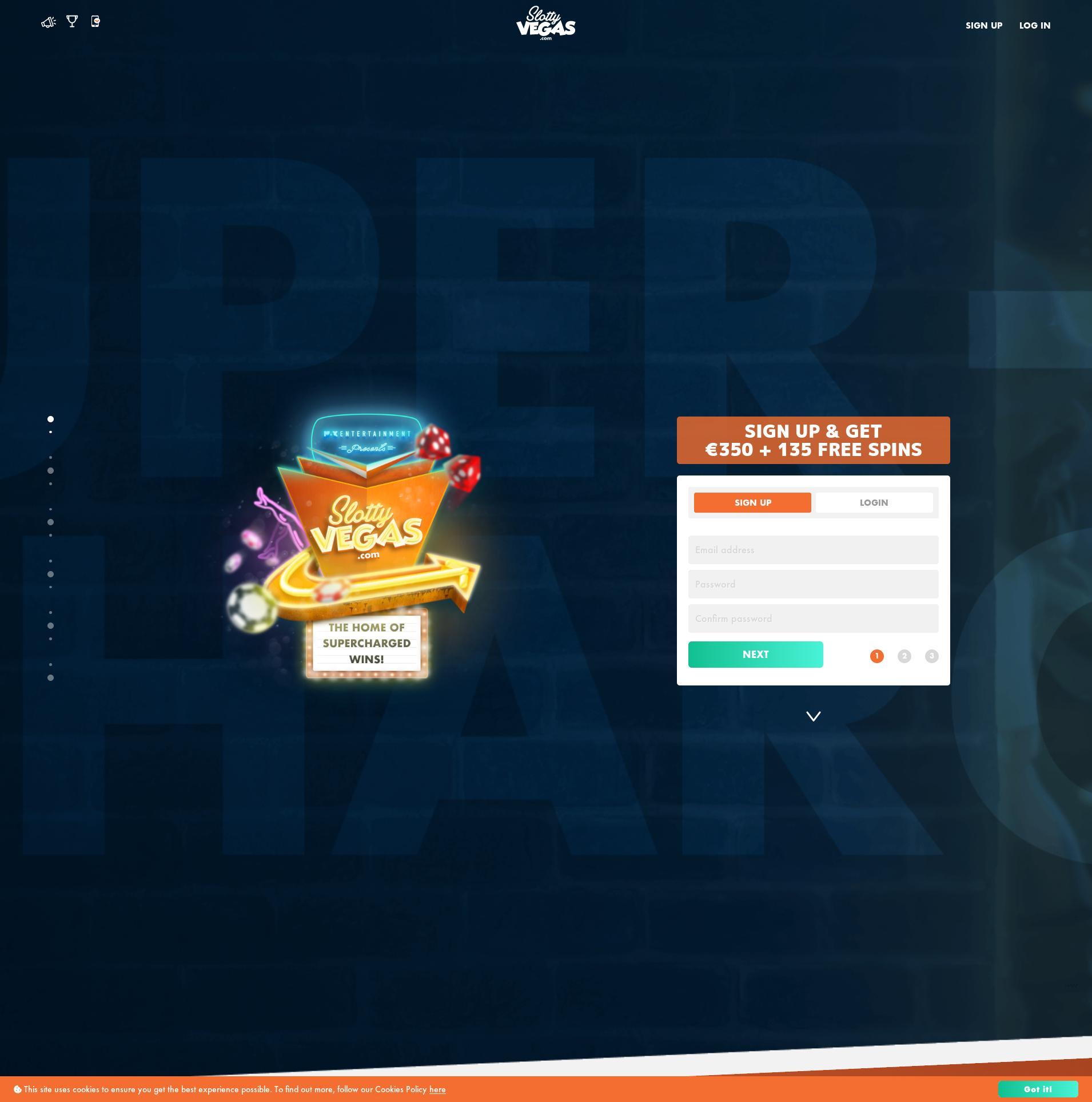 Casino ekranı Lobby 2020-02-27 için Hollanda
