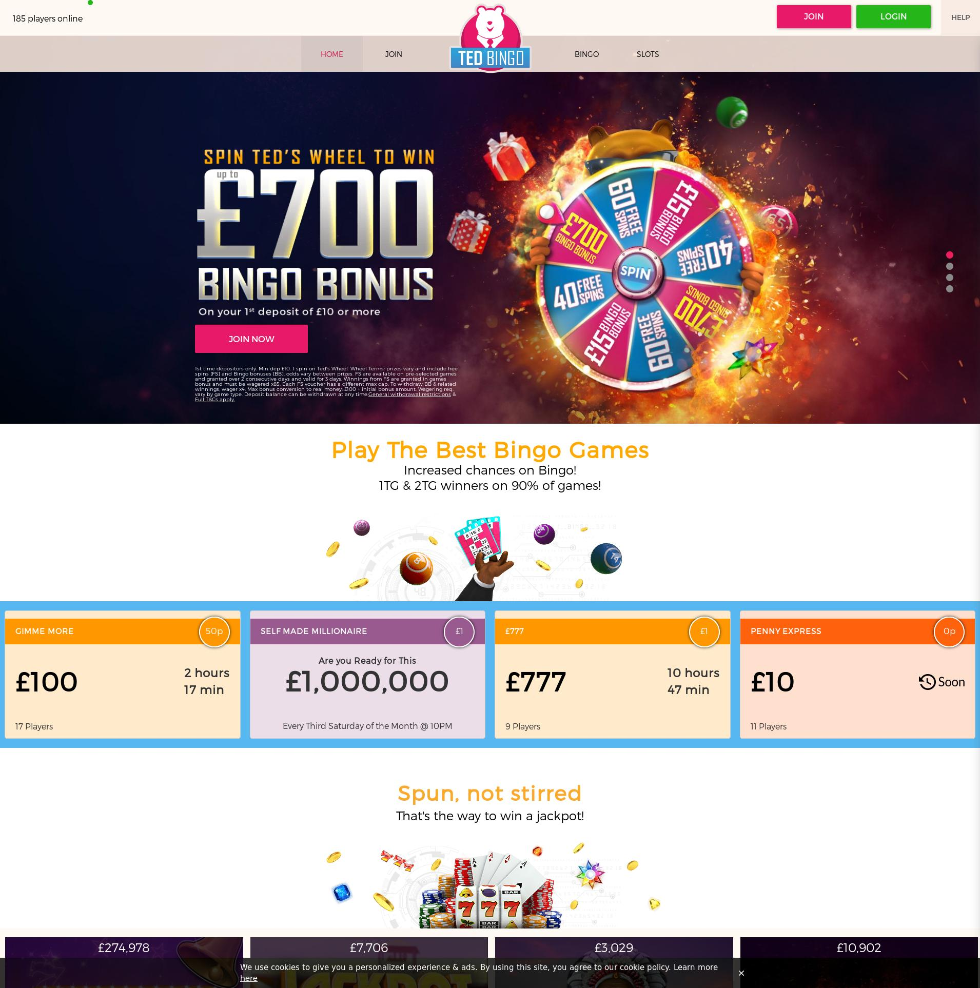 Casino screen Lobby 2020-05-28 for United Kingdom