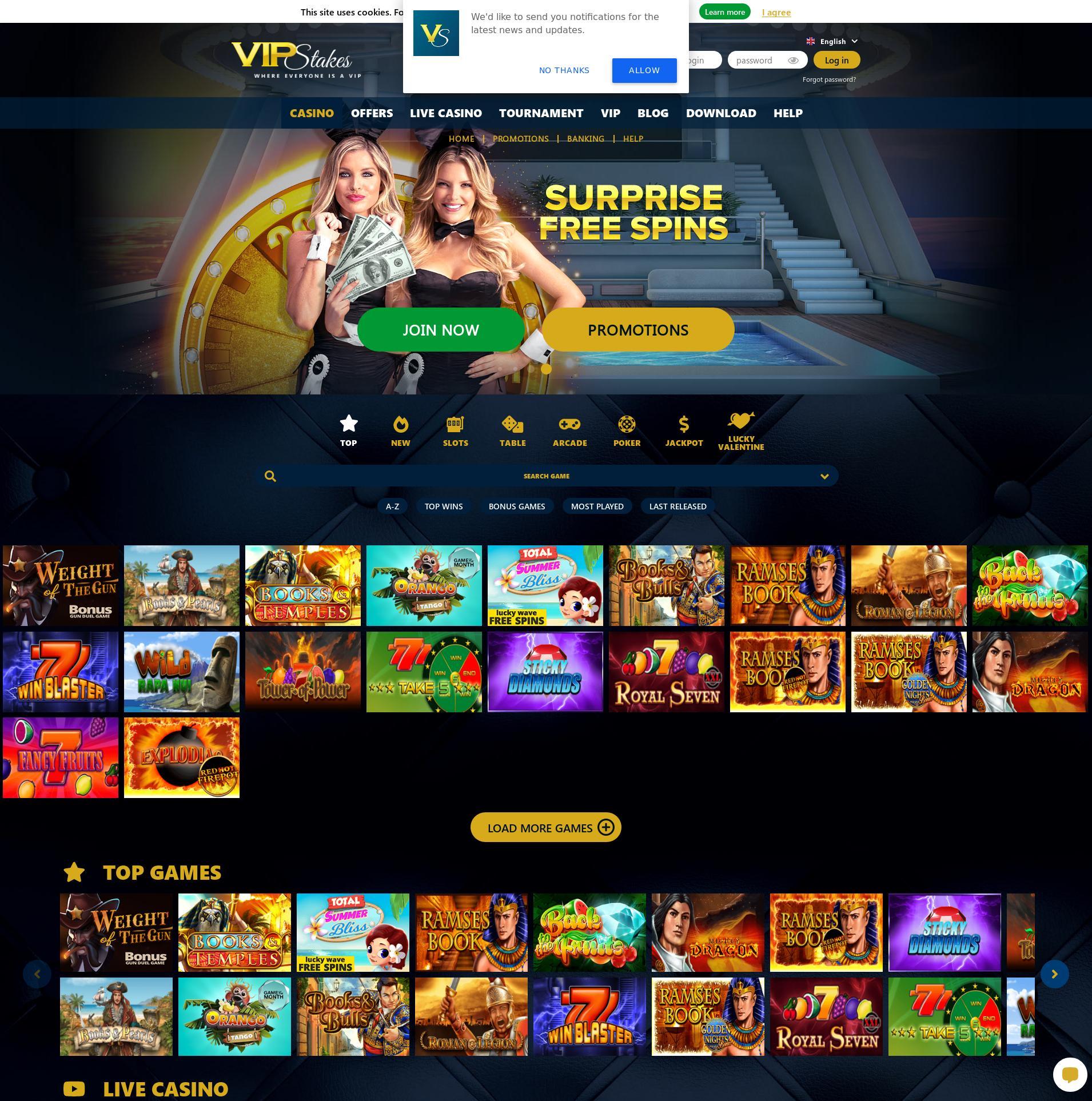 Casino-näyttö Lobby 2020-02-16 varten Suomi