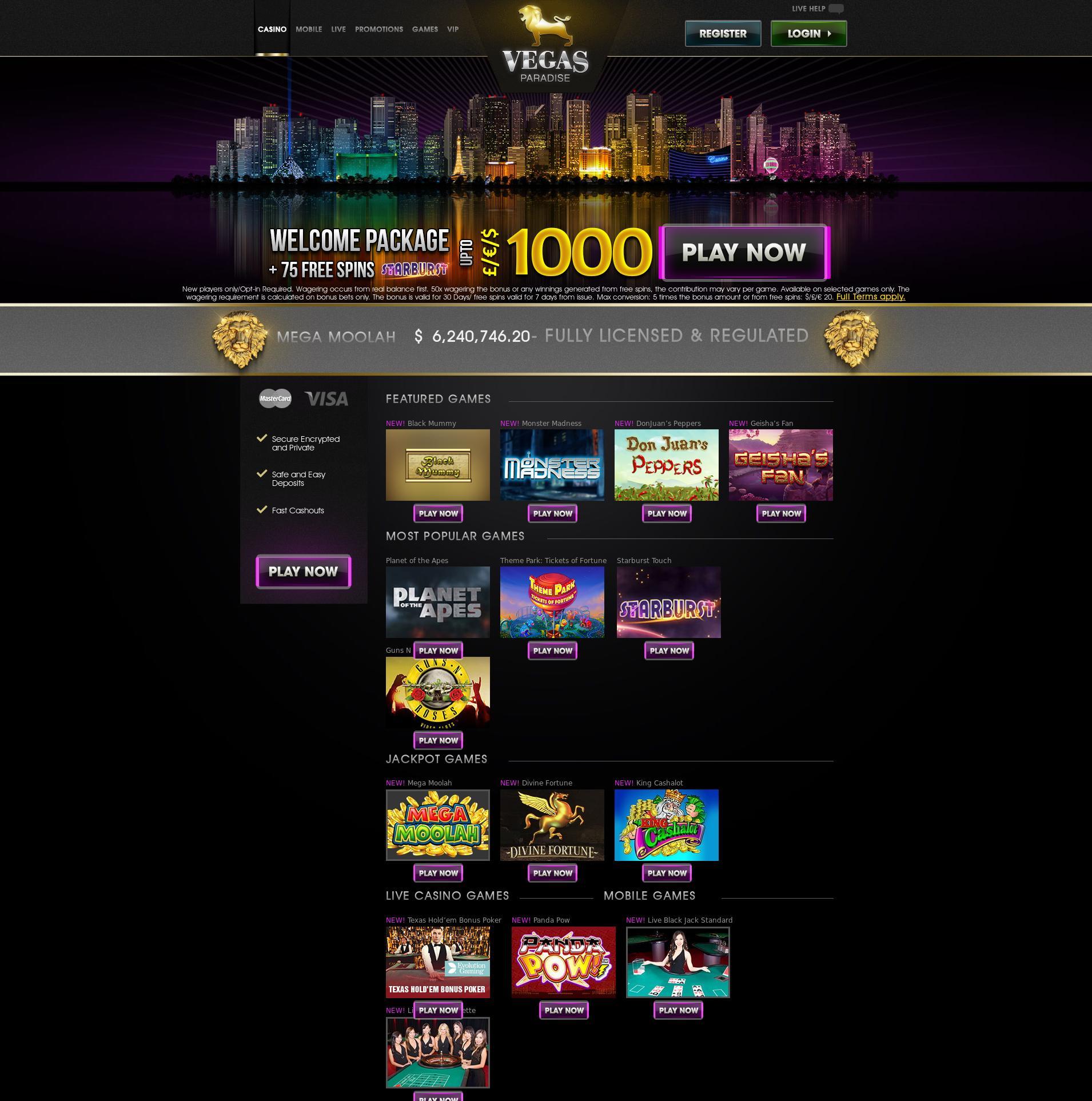 カジノのスクリーン Lobby 2019-06-15 ために 日本