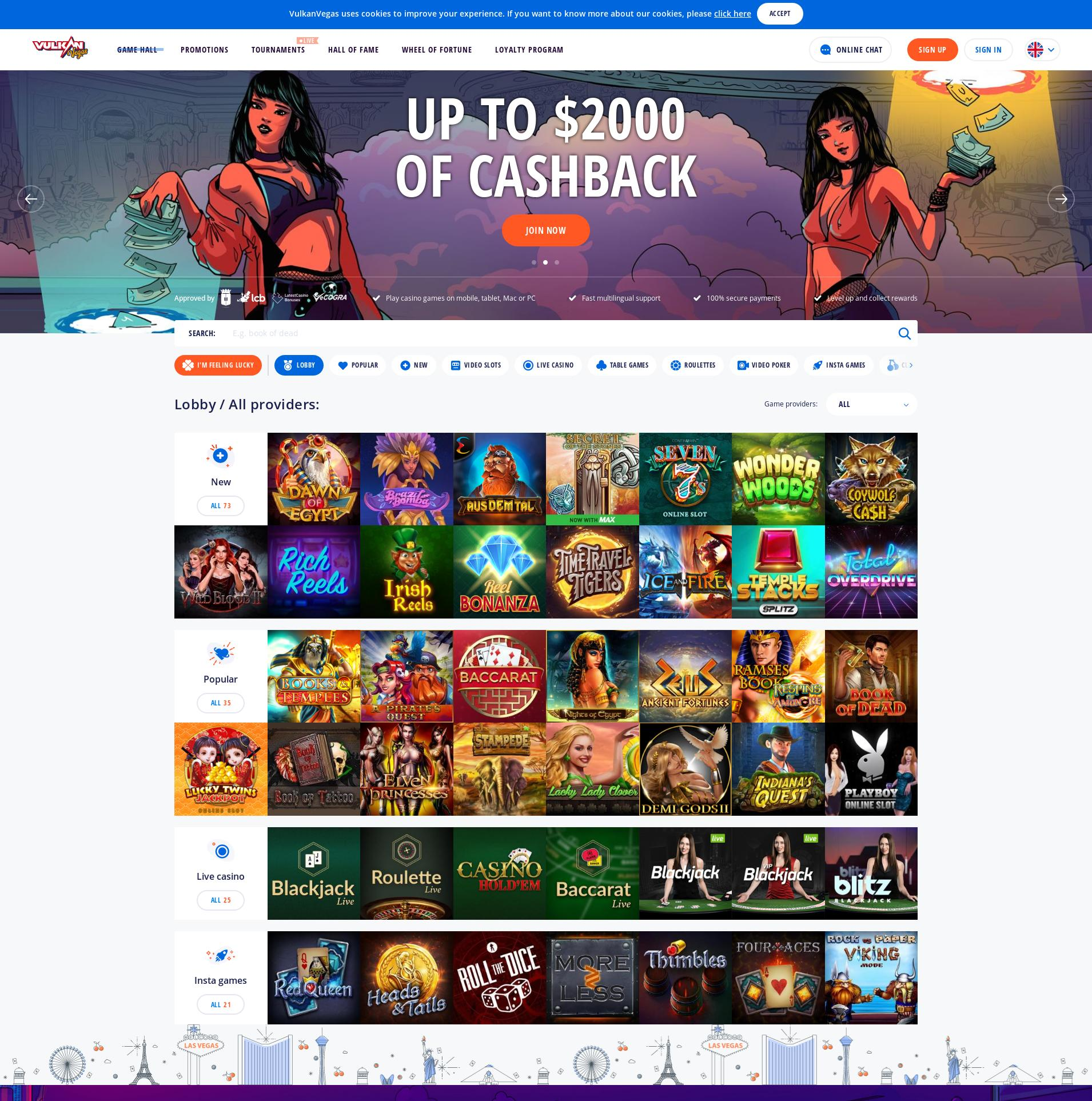 赌场的屏幕 Lobby 2020-02-23 对于 中国