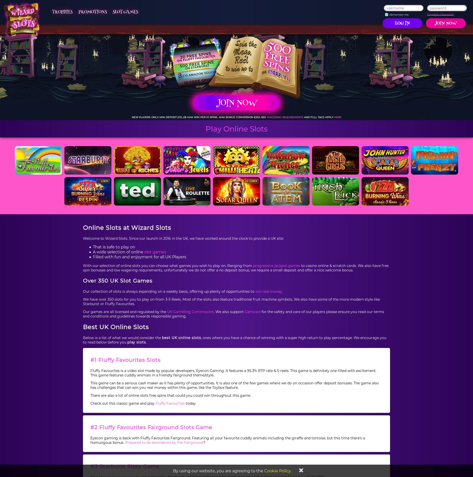 Casino screen Lobby 2020-01-19 for United Kingdom