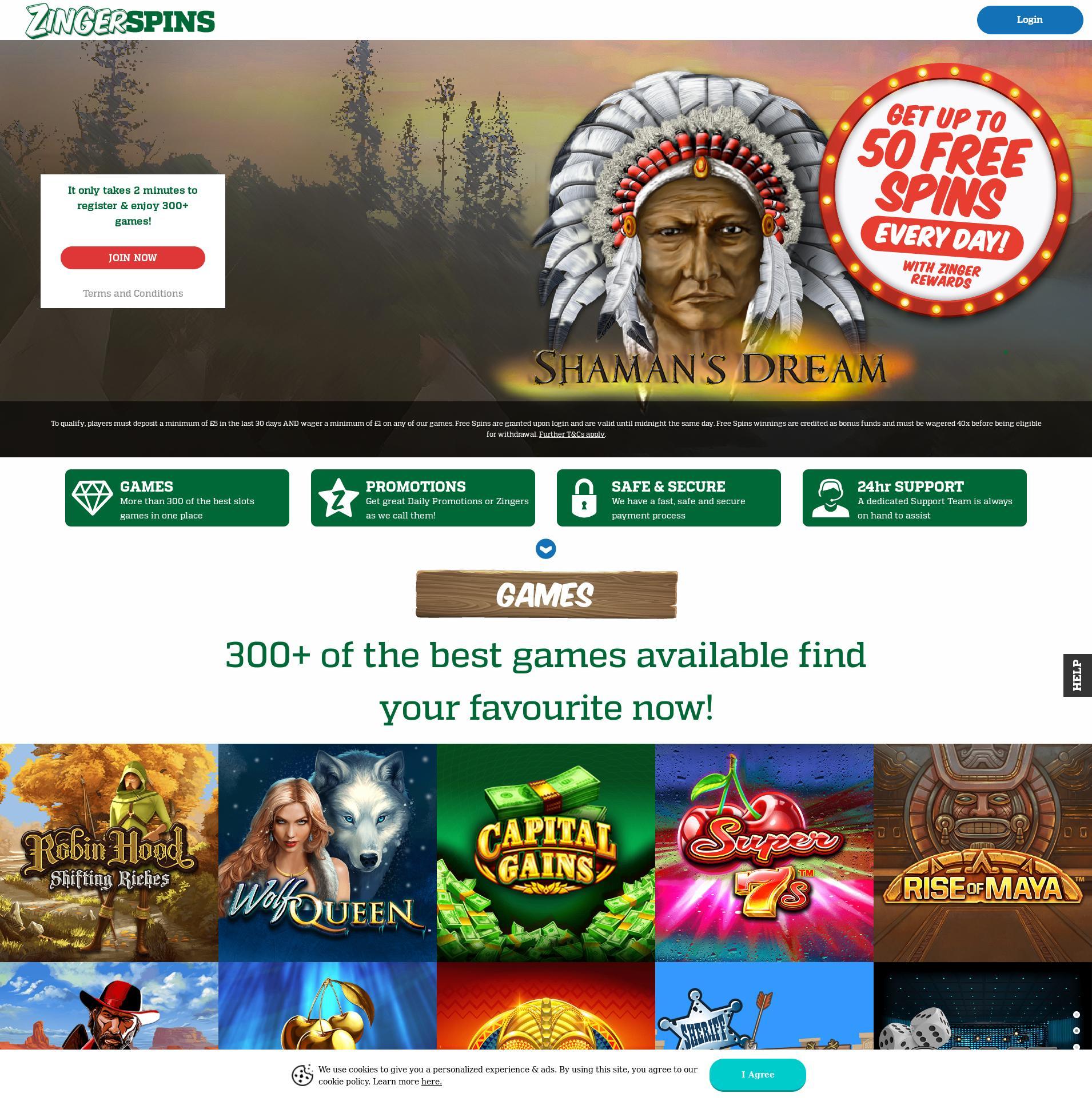 Casino screen Lobby 2020-05-30 for United Kingdom