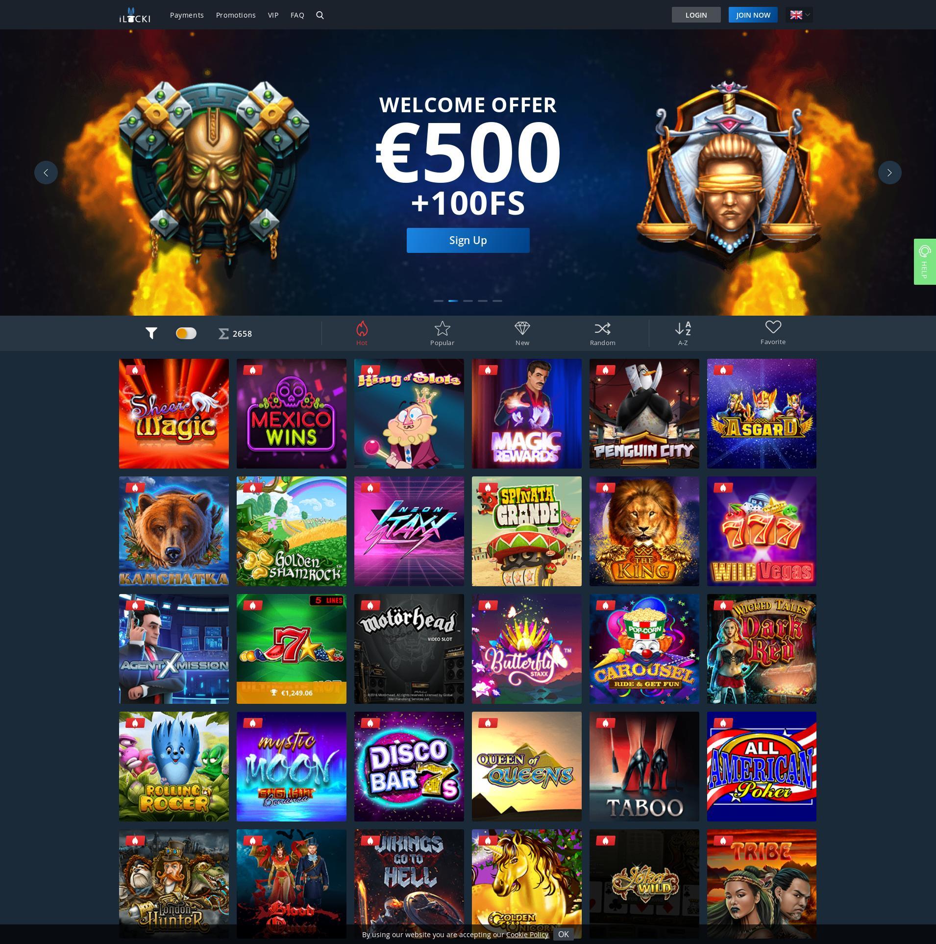 Καζίνο οθόνη Lobby 2019-10-14 Για Ελλάδα